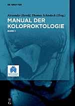 Cover Manual der Koloproktologie Band 1